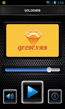 GOLDENRB Radio poster