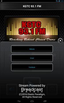 KGTC 93.1 FM apk screenshot