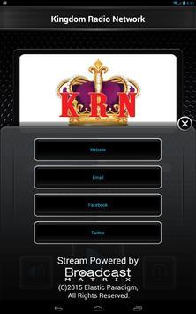 Kingdom Radio Network apk screenshot