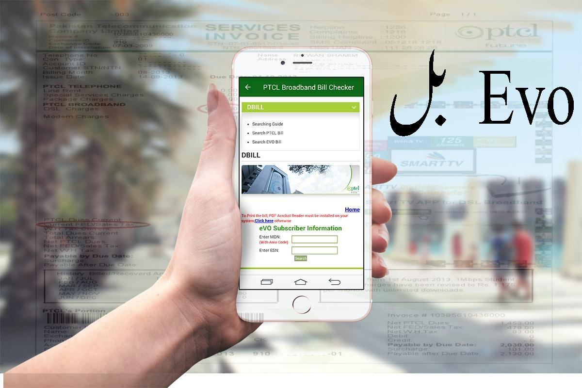 PTCL DSL Bill Checker for Android - APK Download