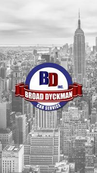 Broad Dyckman Car Service poster