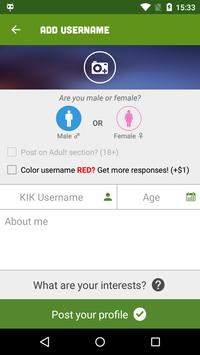 kff username finder for kik apk free social app for