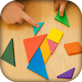 Curved Shape Puzzle - Tangram Puzzle Master icon