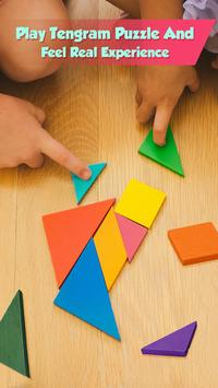 Curved Shape Puzzle - Tangram Puzzle Master poster