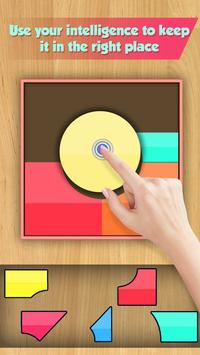 Curved Shape Puzzle - Tangram Puzzle Master apk screenshot
