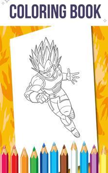 How To Color Dragon Ball Z screenshot 3