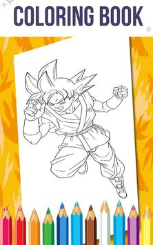 How To Color Dragon Ball Z poster