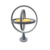 Gyroscope statics icon