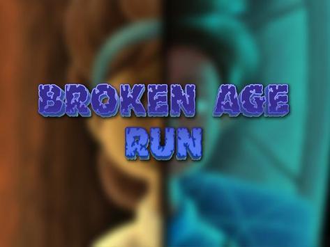 Broke Age Run poster