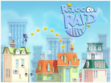 Raccoon Raid-City Jumper Game screenshot 8