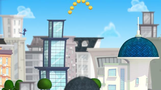 Raccoon Raid-City Jumper Game screenshot 1
