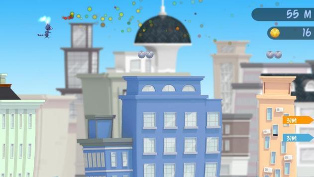 Raccoon Raid-City Jumper Game screenshot 3