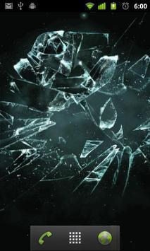broken glass wallpaper apk screenshot