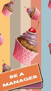 Cupcake Click - Bakery Idle poster