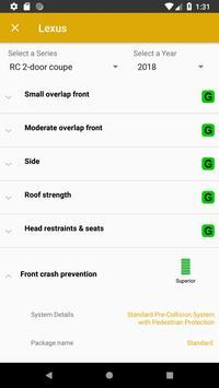 IIHS API Example App screenshot 1