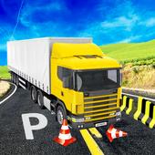 Offroad Truck Trailer Driver icon