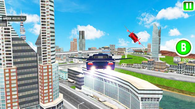 Flying Car Stunts Driver apk screenshot