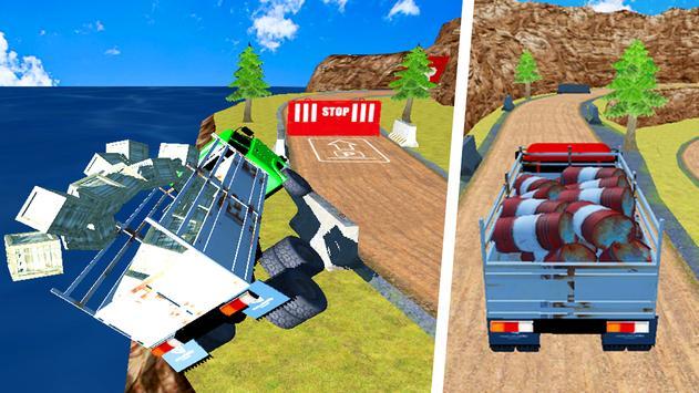 Offroad Euro Cargo Truck Sim apk screenshot