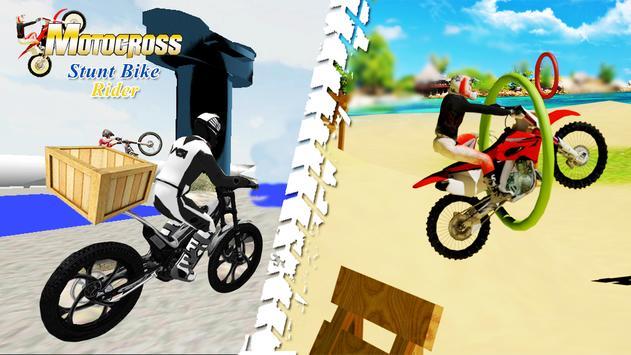 Motocross Stunt Bike Rider poster