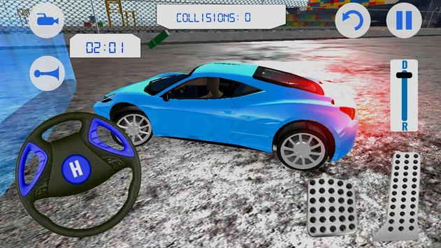 Sports Car Parking Simulation apk screenshot