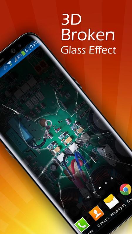 ... Broken Screen 3D Live Wallpaper screenshot 4 ...
