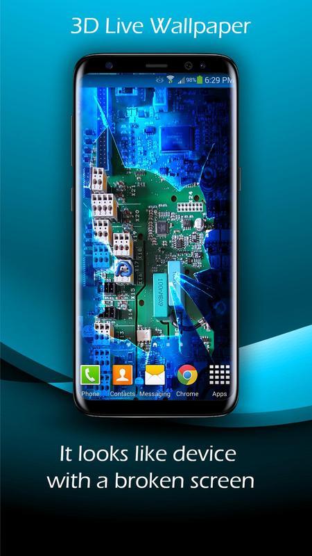Broken Screen 3d Live Wallpaper For Android Apk Download