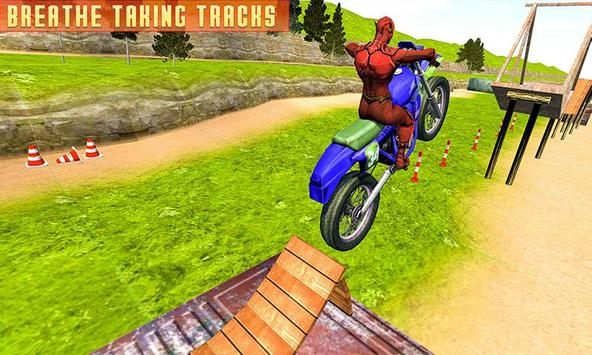 Superheroes Bike Stunts Master : Crazy Bike Rider screenshot 4