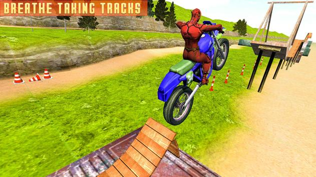 Superheroes Bike Stunts Master : Crazy Bike Rider screenshot 6
