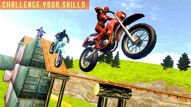 Superheroes Bike Stunts Master : Crazy Bike Rider screenshot 8
