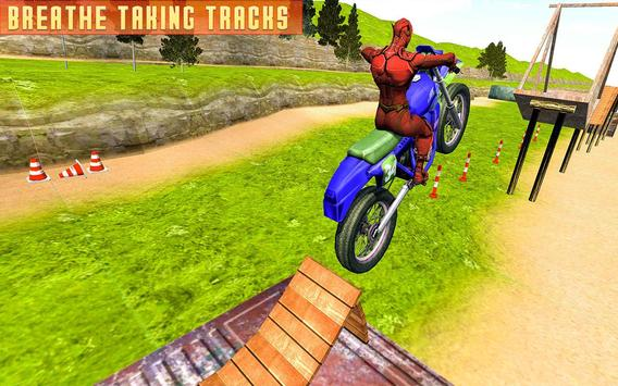 Superheroes Bike Stunts Master : Crazy Bike Rider screenshot 13
