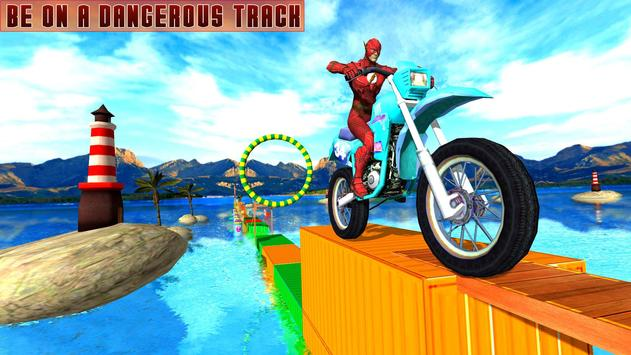 Superheroes Bike Stunts Master : Crazy Bike Rider screenshot 11