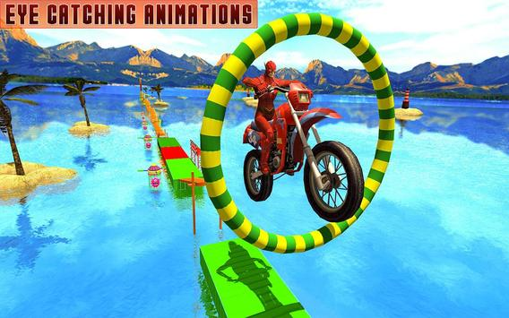 Superheroes Bike Stunts Master : Crazy Bike Rider screenshot 17