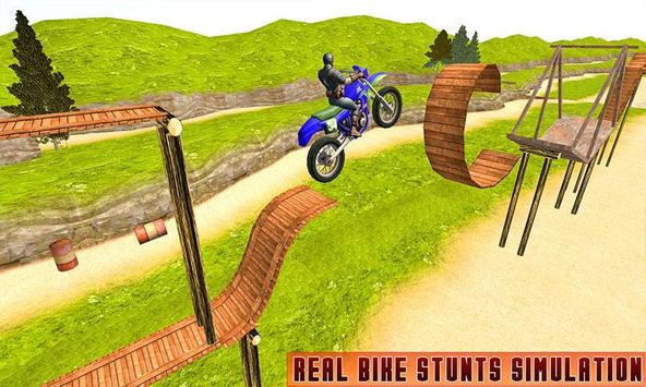 Superheroes Bike Stunts Master : Crazy Bike Rider screenshot 1