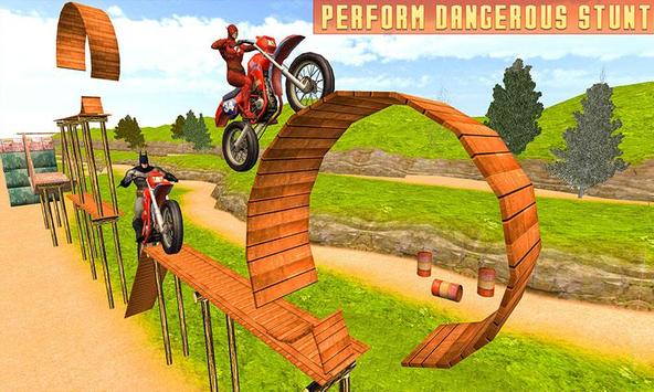 Superheroes Bike Stunts Master : Crazy Bike Rider screenshot 3
