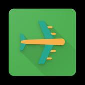 planetrip - cheap flight booking icon