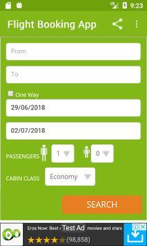 planetrip - cheap flight booking poster