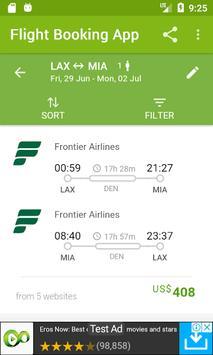 planetrip - cheap flight booking screenshot 1