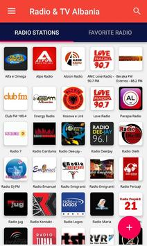 Albania Radio & TV poster