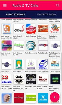 Chile Radio & TV streaming online poster