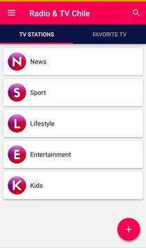 Chile Radio & TV streaming online apk screenshot