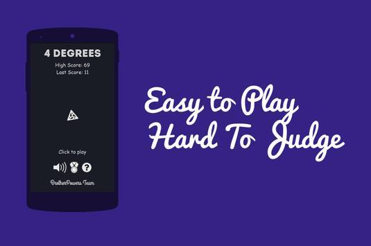 4 Degrees - Swipe Game poster