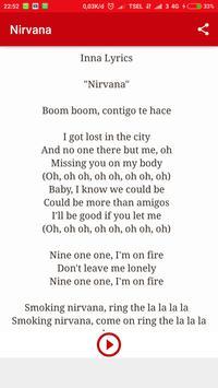 INNA - Album Nirvana  [lyrics & songs] screenshot 1