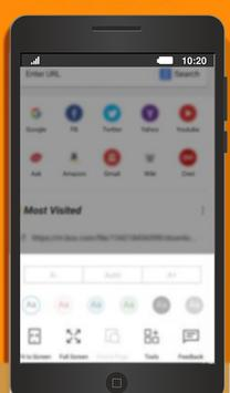 Guide fast UBrowser easy use screenshot 1