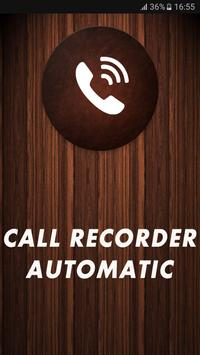Call Recorder Automatic 2018 poster