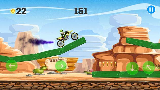 Extreme moto-Dirt bike poster