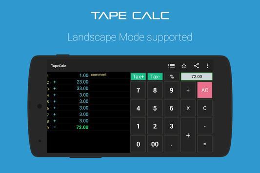 TapeCalc screenshot 8