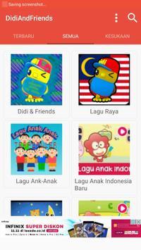 Didi and Friends MP3 2018 apk screenshot