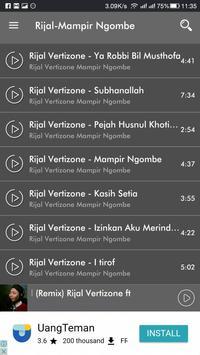 Rijal Vertizone Sholawat 2018 Auto Update Konten screenshot 1
