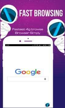 Fastest 4G Browse - Fast and Simply poster