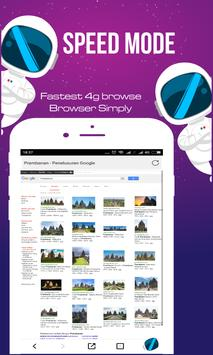 Fastest 4G Browse - Fast and Simply screenshot 1